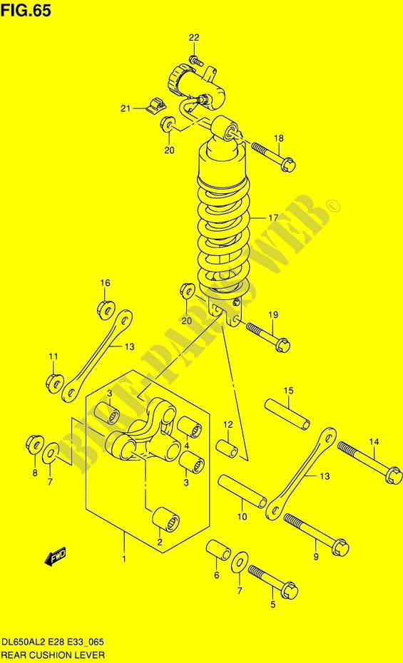 - Air Filter 650 CC Suzuki DL 650 A-L2 V-Strom 2012 ABS
