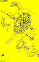 FRONT WHEEL for Suzuki RM-Z 450 2015