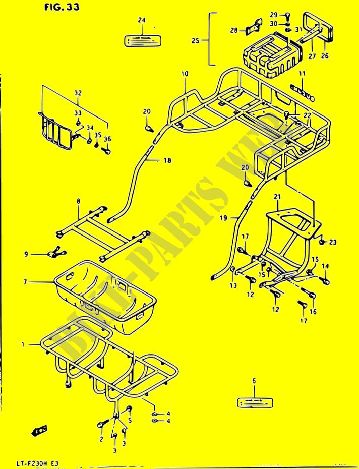 1987 Suzuki Lt F230 Atv Wiring Schematics Wiring Diagrams