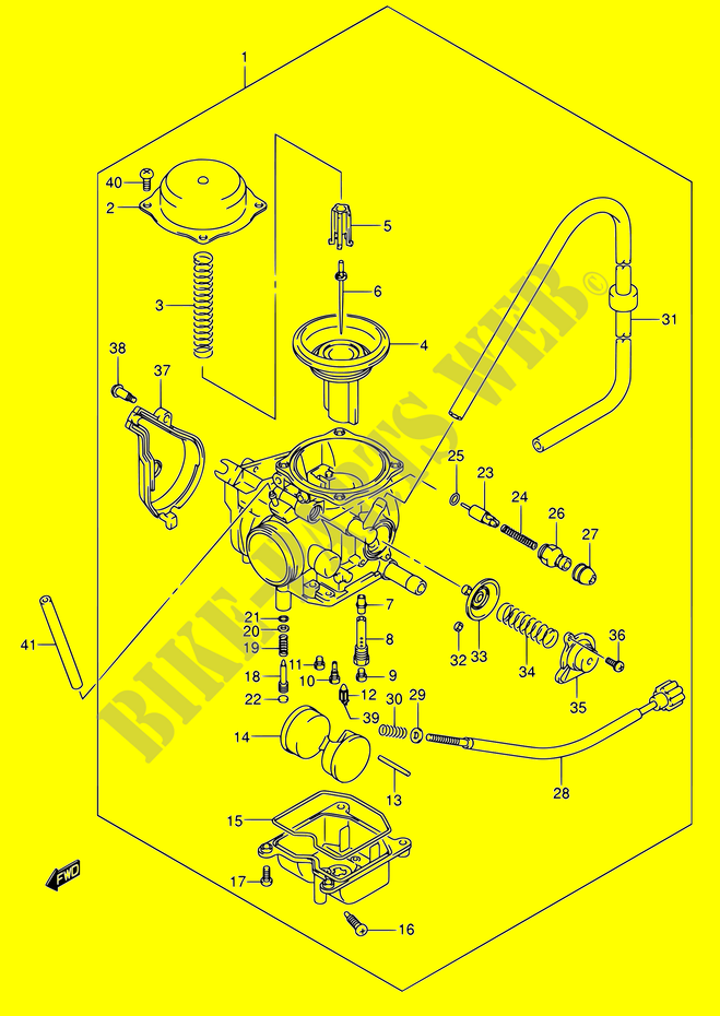 carburetor for suzuki 400 eiger 2007