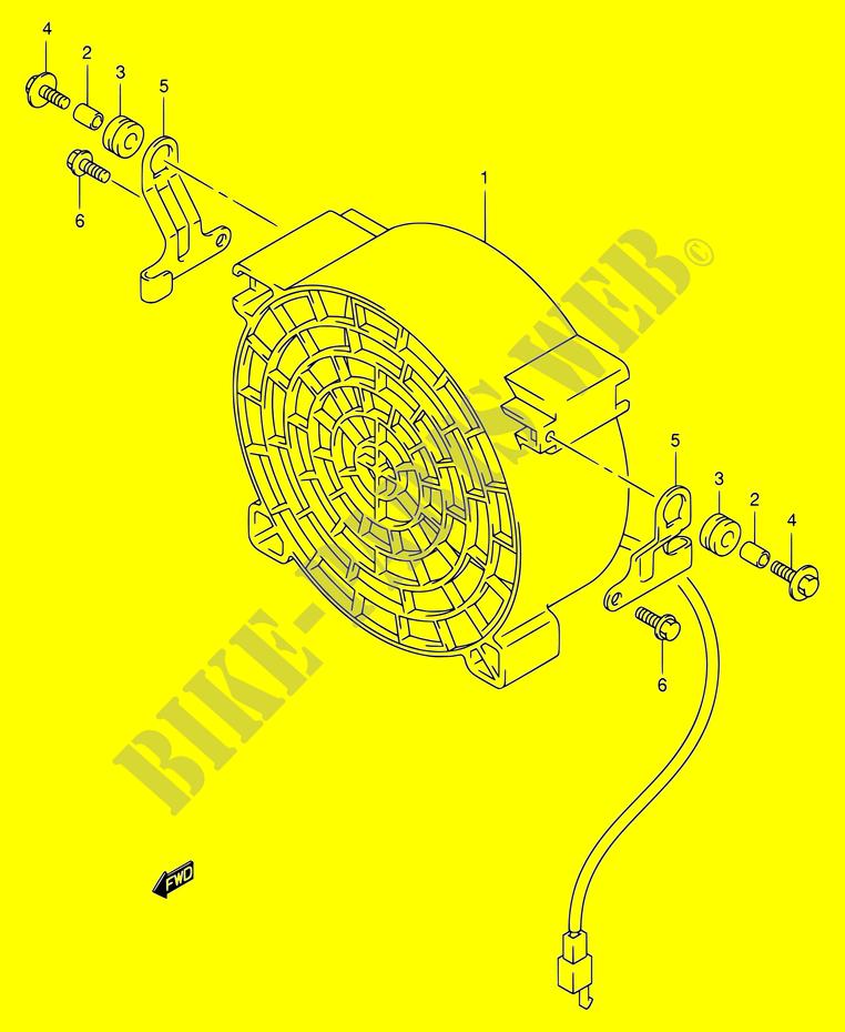 suzuki eiger wiring harness 2x4