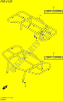 CARRIER for Suzuki KINGQUAD 500 1995