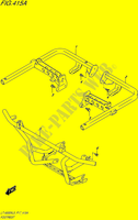 FOOTREST for Suzuki KINGQUAD 500 1995