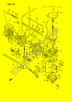 CARBURETOR for Suzuki GSX-F 1100 1990