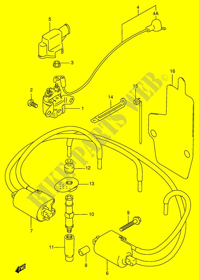 Electrical For Suzuki Gsx