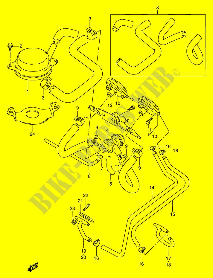 Fuel Evap System  E18  For Suzuki Gsx