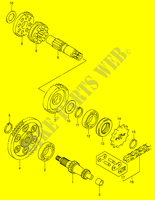 TRANSMISSION for Suzuki JR 50 2003