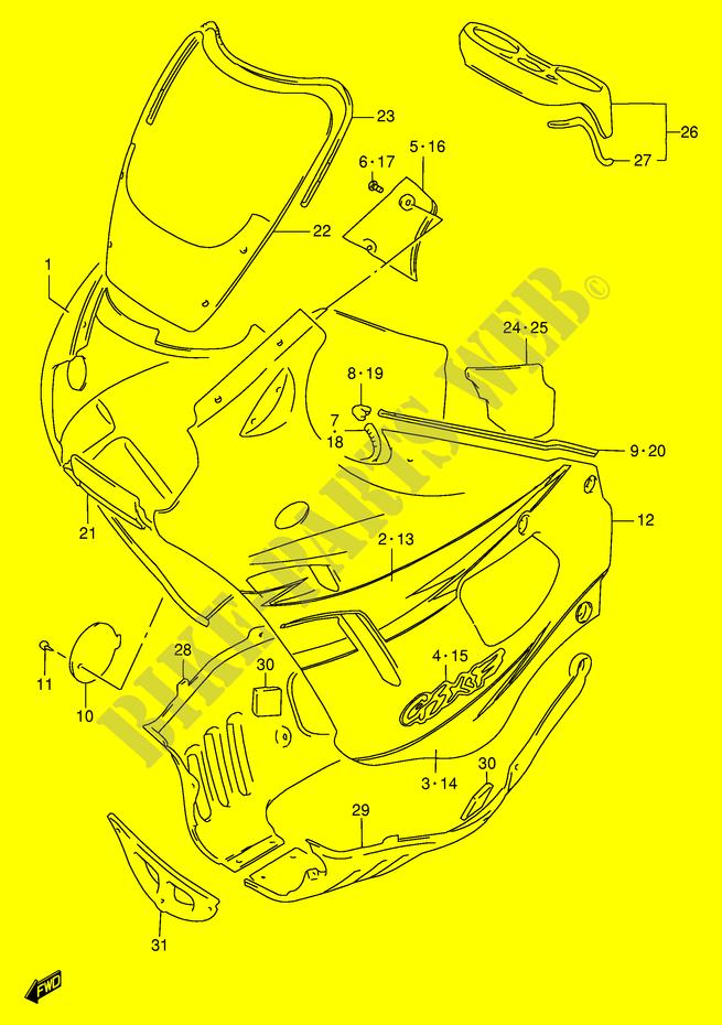 Fairing For Suzuki Gsx
