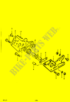 CHAIN GUIDE (RM125T) for Suzuki RM 125 1979