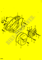 CRANKCASE COVER for Suzuki RM 125 1979