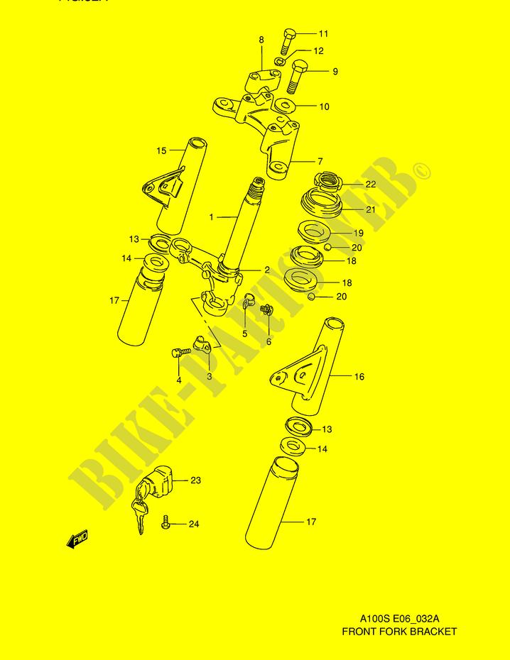Suzuki A100 Wiring Diagram