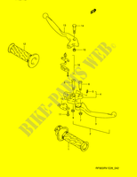 HANDLE LEVER  RF900RZS(E28) S 1995 Motorcycle Suzuki microfiche diagram