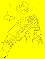REAR FENDER (MODEL R/ S)  RF900RR(E2) R 1994 Motorcycle Suzuki microfiche diagram