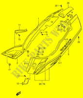 FRAME COVER (MODEL R/ S)  RF900RR(E2) R 1994 Motorcycle Suzuki microfiche diagram