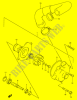WATER PUMP  RF900RR(E2) R 1994 Motorcycle Suzuki microfiche diagram