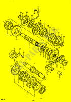 TRANSMISSION for Suzuki RM 125 1979