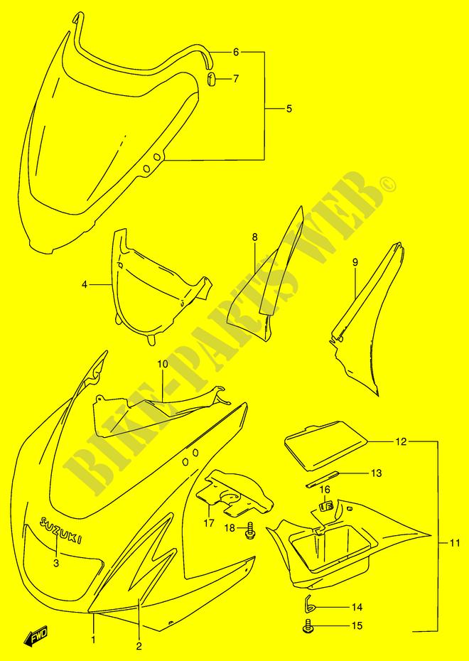 Carb Carburettor Diaphragm Suzuki RF 900 RT 1996