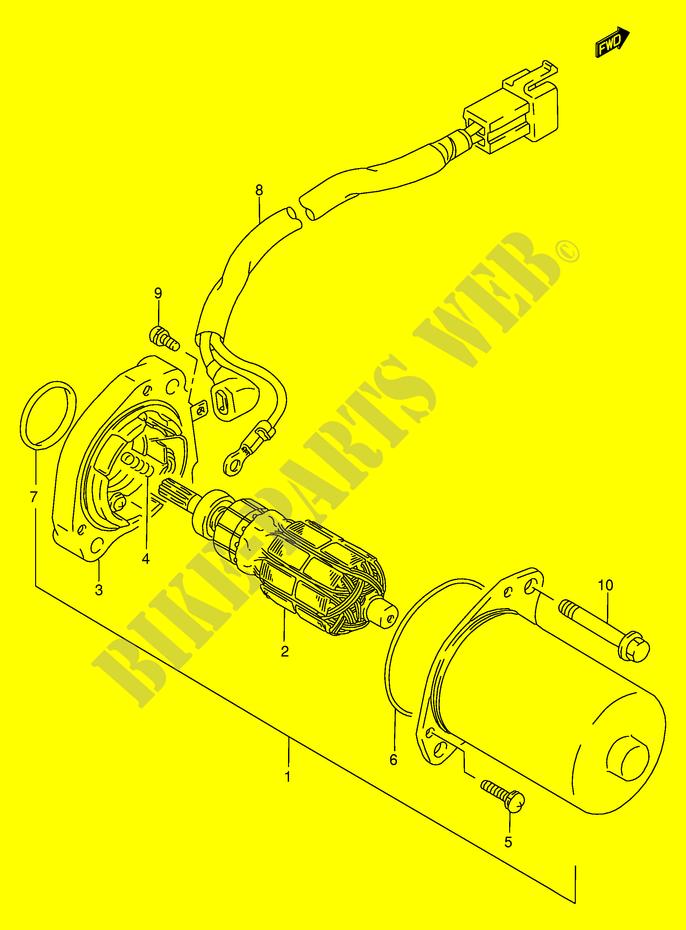 Suzuki Moto 125 Rg 1999 Rg125fxe6 Electrical Starter Motor: Suzuki Rg 125 Wiring Diagram At Mazhai.net