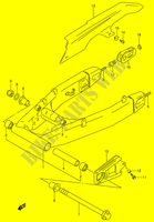 REAR SWINGING ARM (MODEL R/ S)  RF900RR(E2) R 1994 Motorcycle Suzuki microfiche diagram