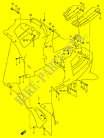 INSTALLATION PARTS  RF900RR(E2) R 1994 Motorcycle Suzuki microfiche diagram