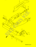 REAR SWINGING ARM (MODEL R/ S)  RF900RZS(E28) S 1995 Motorcycle Suzuki microfiche diagram