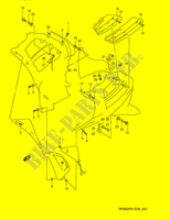 INSTALLATION PARTS  RF900RZS(E28) S 1995 Motorcycle Suzuki microfiche diagram