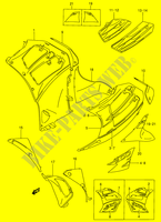 UNDER COWLING (RF900RS2)  RF900RR(E2) R 1994 Motorcycle Suzuki microfiche diagram
