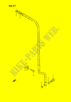 FRONT BRAKE HOSE SUSPENSION/BRAKES/WHEELS 80 suzuki-motorcycle RM 1989 DP023980