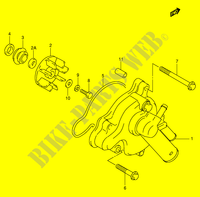 WATER PUMP for Suzuki TL-R 1000 1999