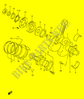 CRANKSHAFT for Suzuki TL-R 1000 1999