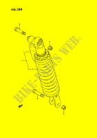 SHOCK ABSORBER (MODEL L) SUSPENSION/BRAKES/WHEELS 80 suzuki-motorcycle RM 1989 DP025151