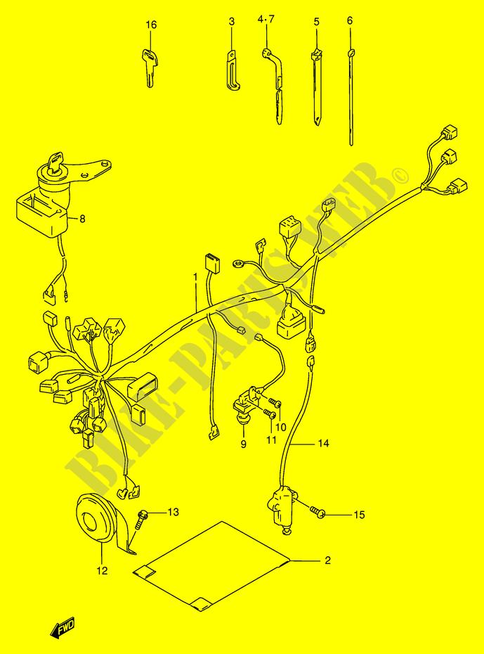 1998 Rmx 250 Wiring Diagram