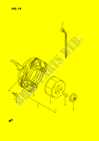 IGNITION ELECTRICAL 80 suzuki-motorcycle RM 1989 DP025724