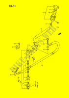 REAR BRAKE MASTER CYLINDER (MODEL L) SUSPENSION/BRAKES/WHEELS 80 suzuki-motorcycle RM 1989 DP026004