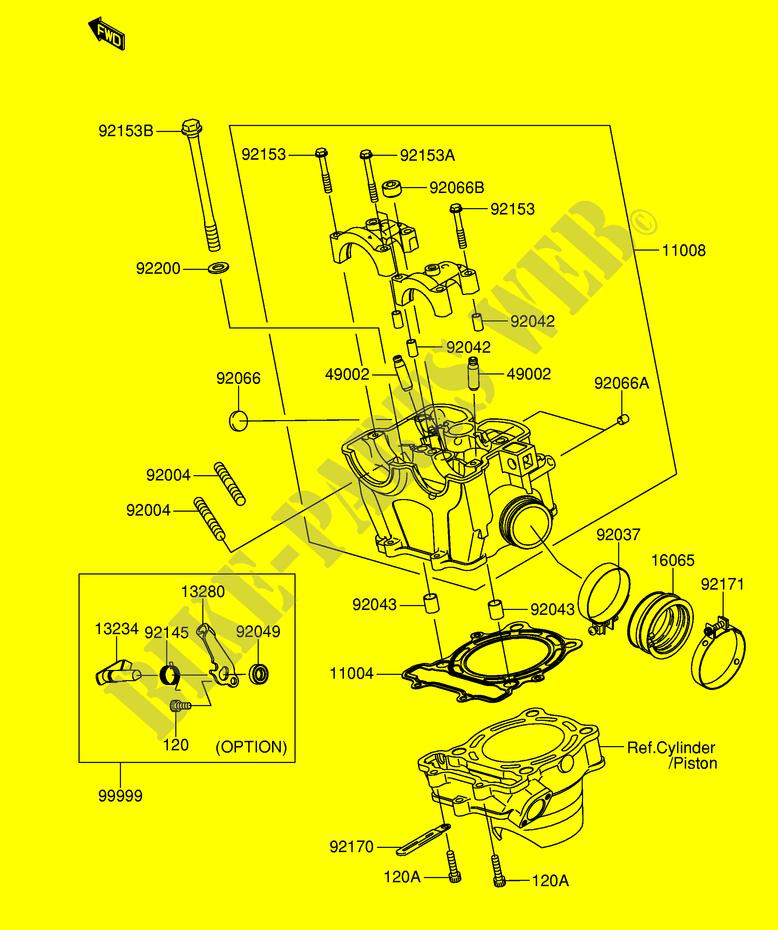 suzuki moto 250 rm-z 2004 rm-z250k4(e19) engine/transmission