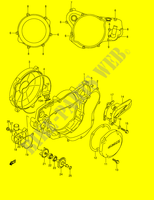 CRANKCASE COVER- WATER PUMP  RM250K1(E2) K1 2001 Motorcycle Suzuki microfiche diagram