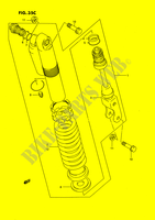 SHOCK ABSORBER (MODEL M/N/P/R/S) SUSPENSION/BRAKES/WHEELS 80 suzuki-motorcycle RM 1989 DP026681