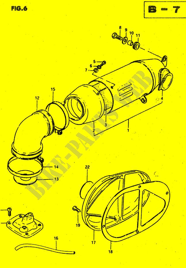 suzuki rv 50 wiring diagram air filter for suzuki van van 50 1981 suzuki motorcycles  air filter for suzuki van van 50 1981