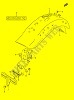 REAR FENDER (MODEL K5/ K6/ K7/ K8)  VS1400K5(E3/E28) K5 2005 Motorcycle Suzuki microfiche diagram