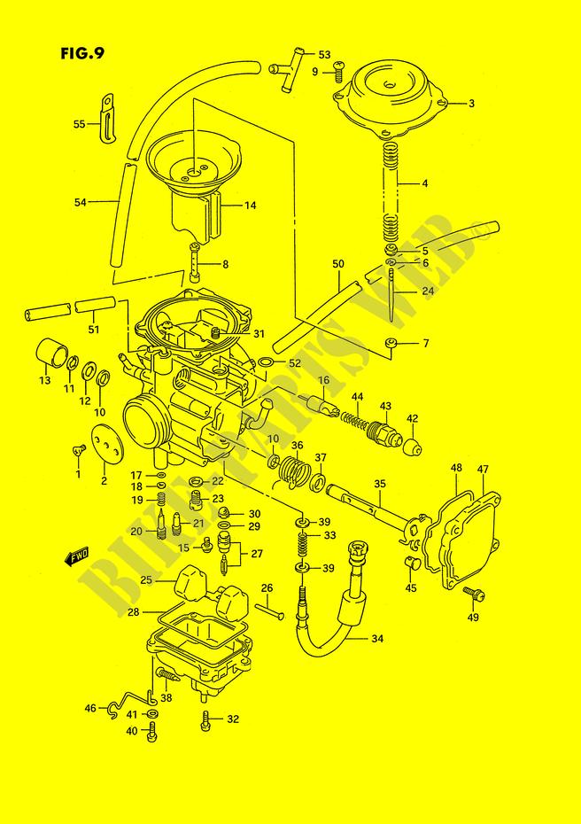 31 Suzuki King Quad 300 Parts Diagram