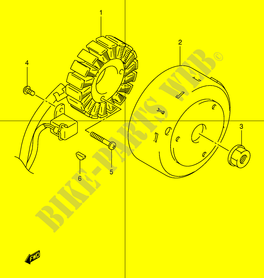 Ignition Electrical Uc150y E34 2000 Epicuro 150 Scooter Suzuki Wiring Diagram Uc150ye34