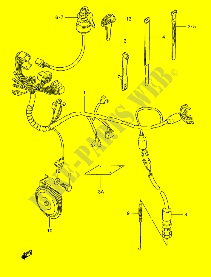 Suzuki Wiring Harness - Wiring Diagram Options