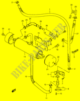 FUEL PUMP (E33)  VS1400K5(E3/E28) K5 2005 Motorcycle Suzuki microfiche diagram