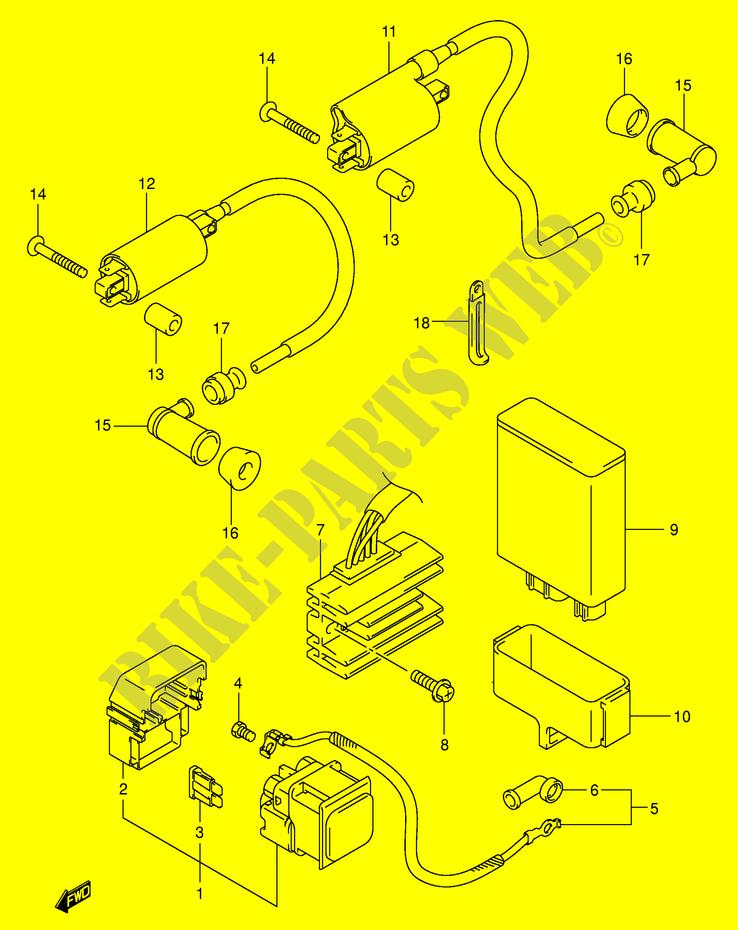 Suzuki Intruder 125 Wiring Diagram