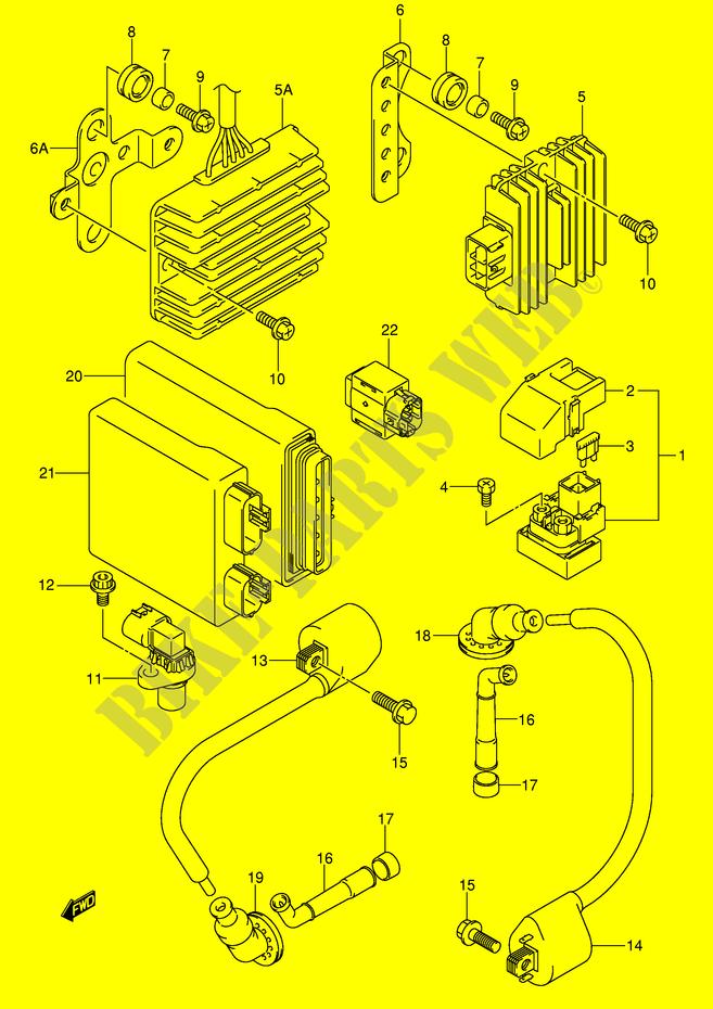 Electrical Dl1000k5 E2 2005 V Strom 1000 Moto Suzuki Rhbikepartssuz: Strom 1000 Wiring Diagram At Gmaili.net