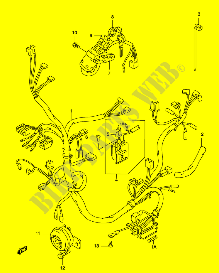 Suzuki Katana 50cc Wiring Diagram