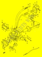 CARBURETOR (REAR) for Suzuki 1990 # SUZUKI MOTORCYCLES