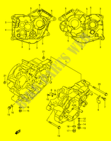 CRANKCASE for Suzuki INTRUDER 125 2000