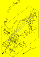 CARBURETOR (FRONT)  VS1400K5(E3/E28) K5 2005 Motorcycle Suzuki microfiche diagram