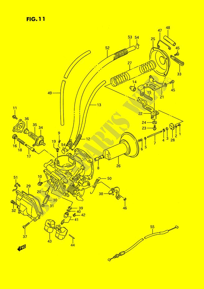 Wiring Diagram Database  Suzuki Intruder 1400 Carburetor